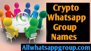 CryptoCurrency Whatsapp Group Names