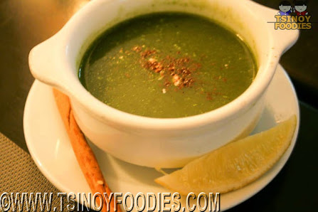 spinach and pechay chowder
