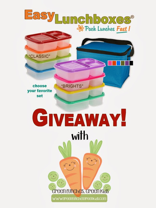 Easy Lunch Boxes Giveaway!