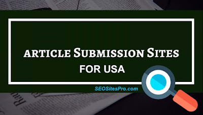 Free Article Submission Sites USA