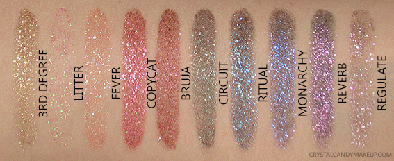 Urban Decay Vice Special Effects Lip Top Coats Swatches