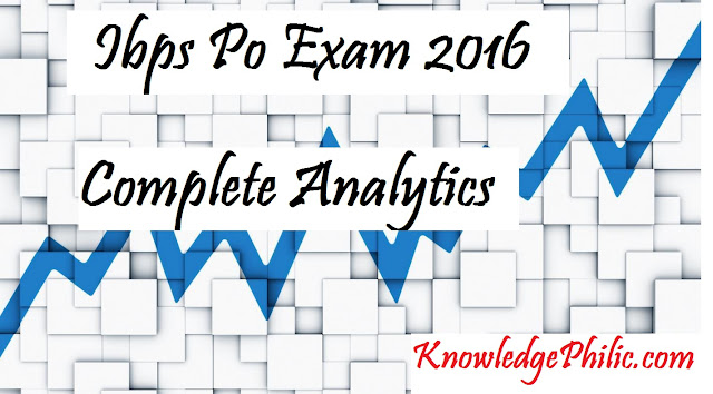 Complete Analytics of IBPS PO Pre 2016 Exam – 16th October 2016