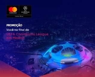 Cadastrar Promoção Bradesco Você Final UEFA 2019 Champions League Madrid Viagem