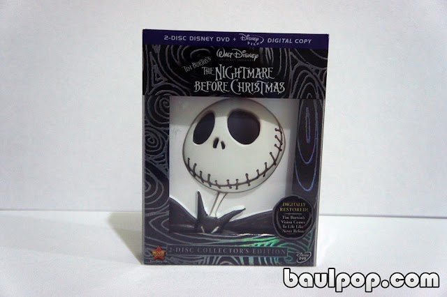 The Nightmare Before Christmas Collector's Edition, DVD