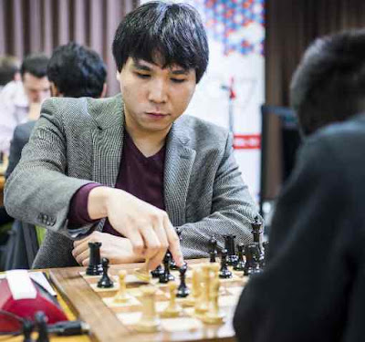 Dans le tournoi mixte, Wesley So (2822) a remporté une partie superbe face à Jeffery Xiong (2674) - Photo © site officiel