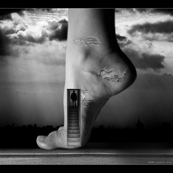 surreal conceptual abstract surrealism foot drawings photograph meaning artworks examples photoshop eyes