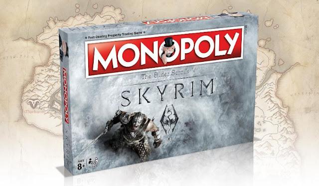 Se anuncia monopoly de Skyrim para 2017