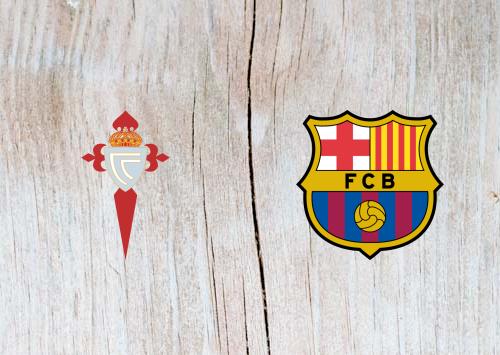 Celta Vigo vs Barcelona Full Match & Highlights 4 May 2019