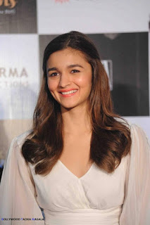 Alia Bhatt in a Surreal White Swanil Shinde Dress Stunning Cute beauty