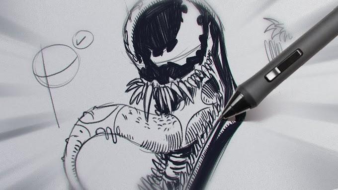 Como Desenhar Com Caneta Bic | Feito Por Bruno