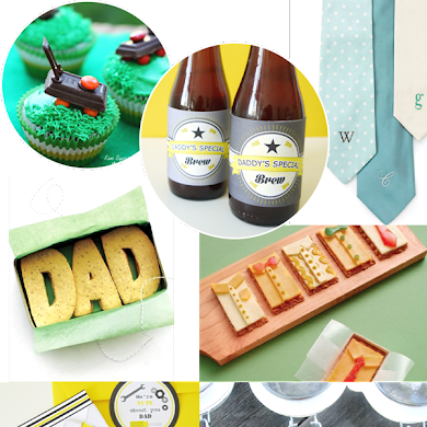 Father's Day Handmade Gift, Card and Food Ideas