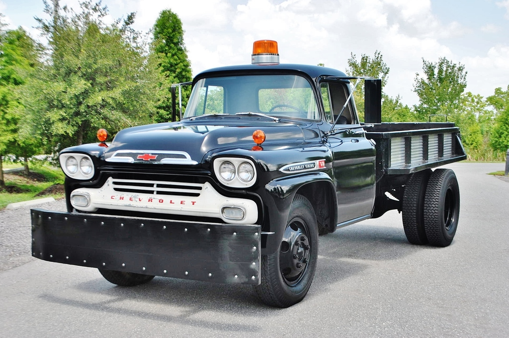 60s Chevy Truck >> All American Classic Cars: 1959 Chevrolet Viking 60 Series