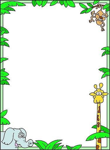 Printable Rainforest Background
