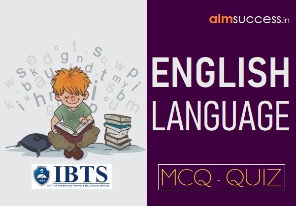 English Quiz for IBPS PO/RRB Mains 2018: 04 Sep