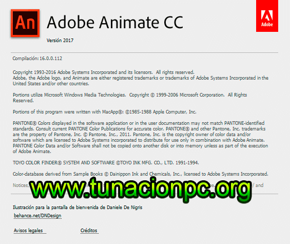 Adobe Animate CC 2017 para Windows y Macos