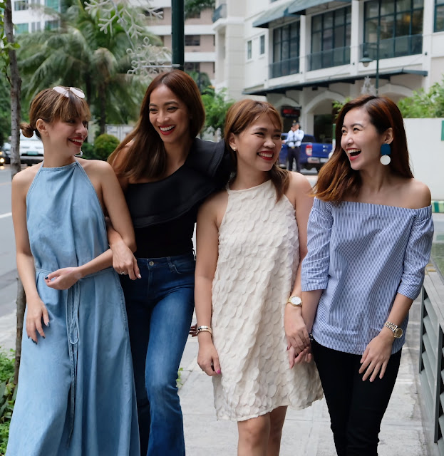 A photo of Askmewhats with Alyssa Lapid, Jackie Go and Angela Nepomuceno
