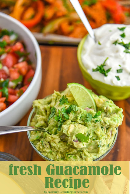 Authentic Fresh Guacamole Recipe