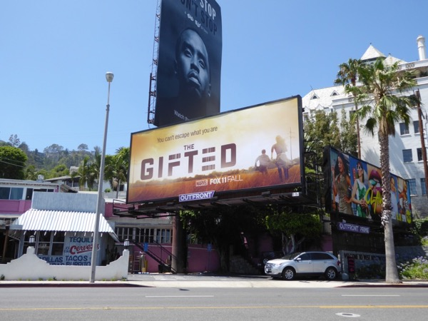 Gifted TV teaser billboard