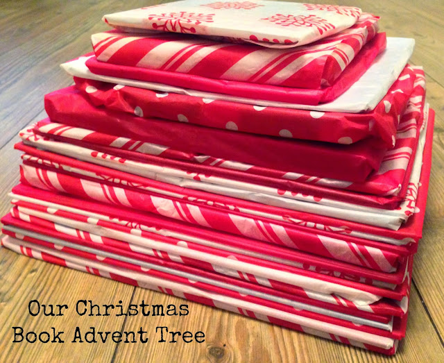 Our Christmas Book Advent tree   Ideas for the Best Children's Books to Buy this Christmas
