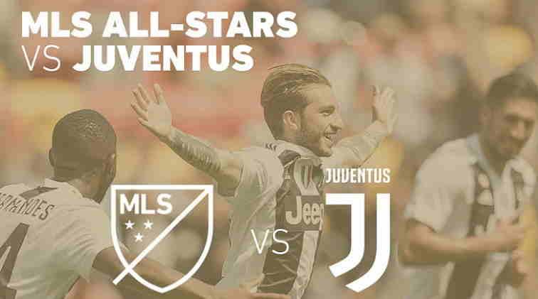 Hasil MLS All Star vs Juventus Skor Akhir (3) 1-1 (5) [Friendly Match]
