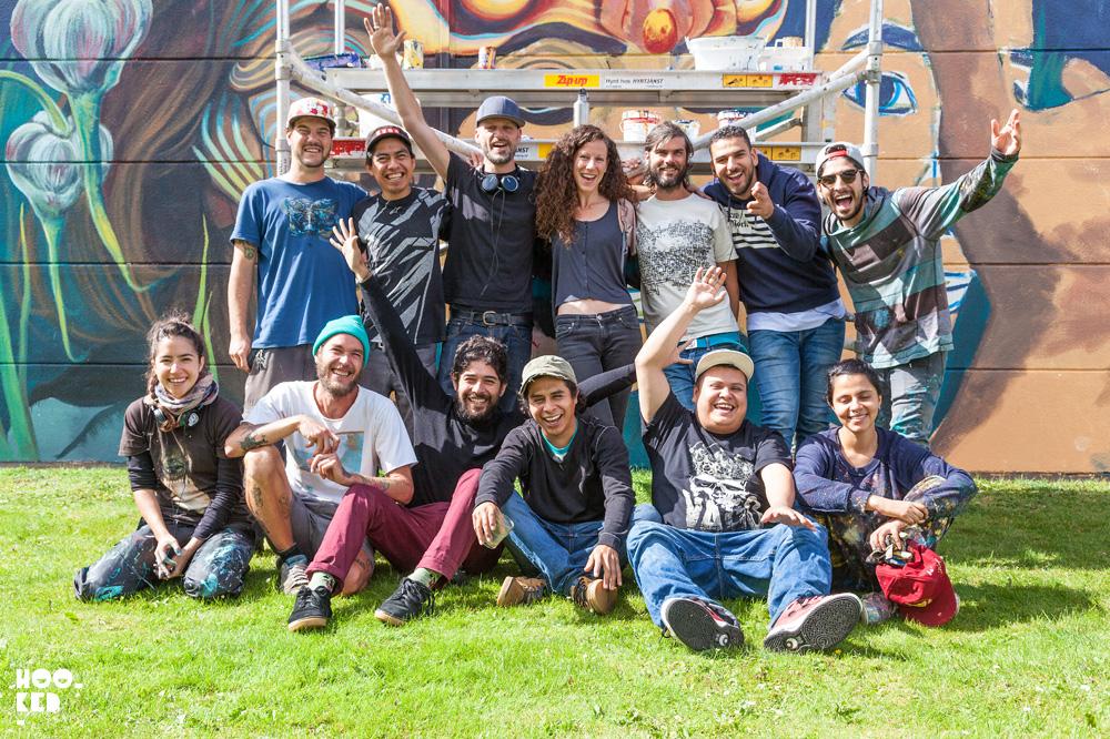 Swedish Street Art Festival in Falköping, hosted by Rizoma Gallery