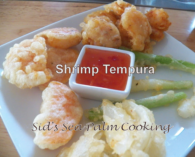 Shrimp Tempura with Vegetables