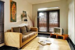 Desain Ruang Keluarga Dengan Penataan yang Simpel