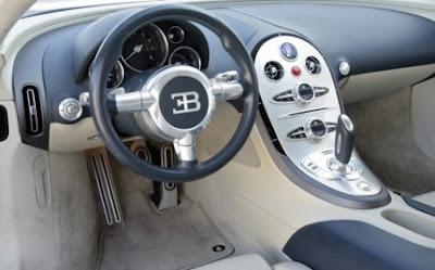 bugatti veyron 2012 interior