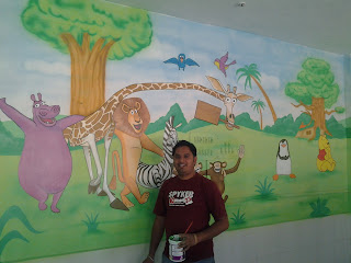 PLAY SCHOOL CLASSROOM WALL MURALS THANA / MULUND / GHATKOPER / MUMBAI