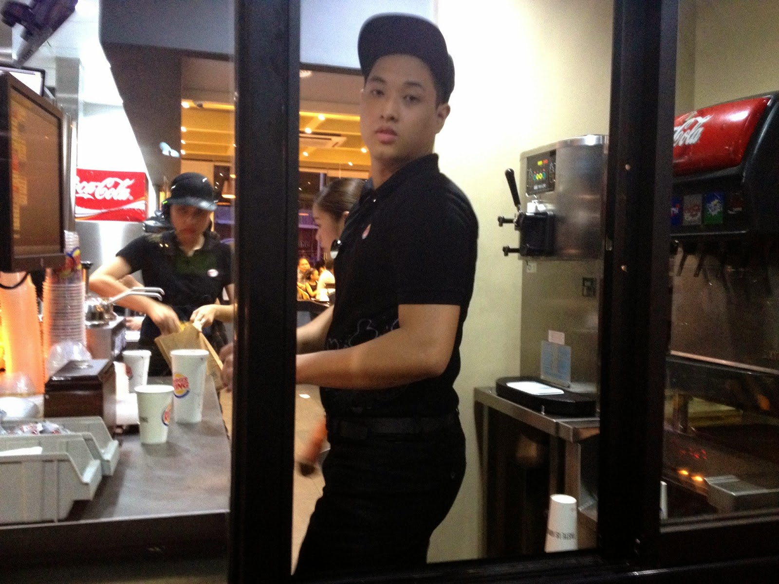Cute Burger King Cebu Attendant
