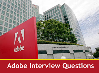 Adobe Company Interview Questions