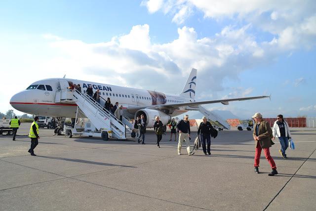 Πτήσεις από Καλαμάτα προς 30 πόλεις του εξωτερικού το 2018 (λίστα δρομολογίων)
