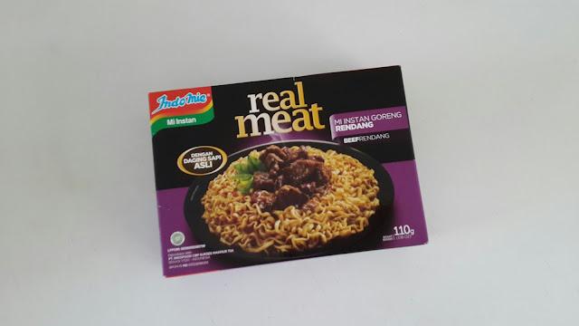Indomie Real Meat Beef Rendang