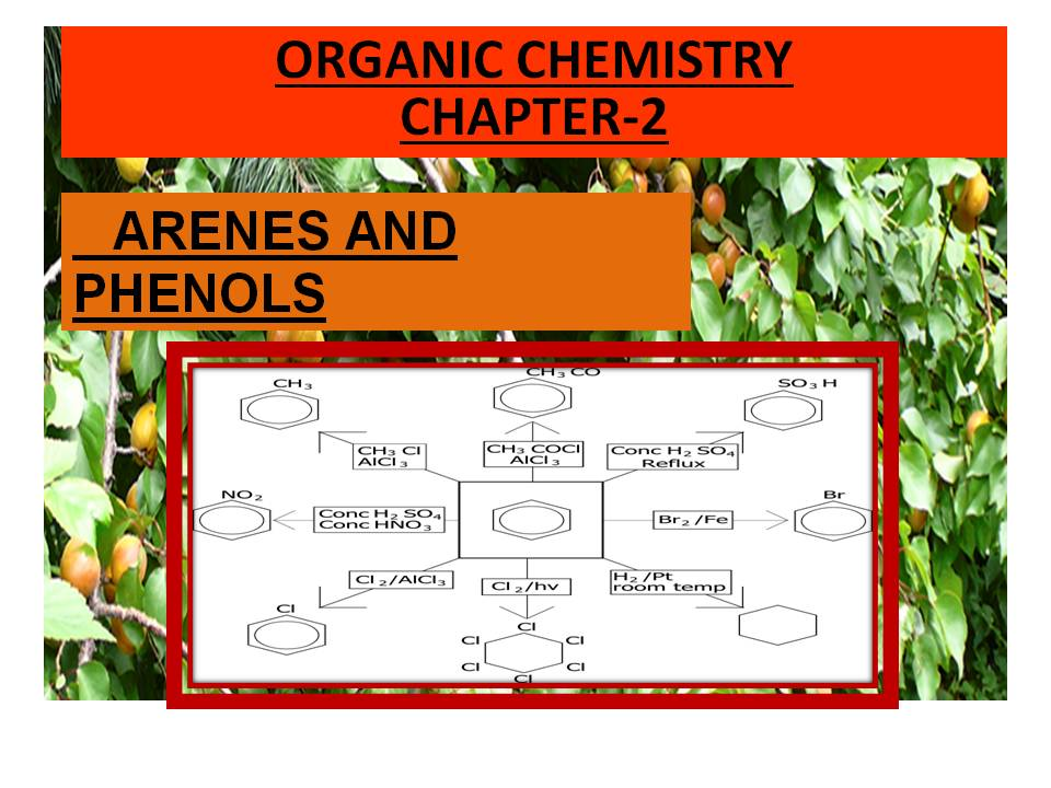 Grade 12: CHAPTER-2 ARENES AND PHENOLS SEMESTER -1