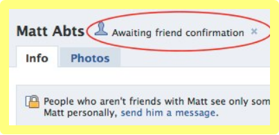 How To Cancel A Facebook Friend Request