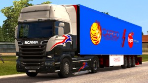 Cargo Logistic System standalone trailer