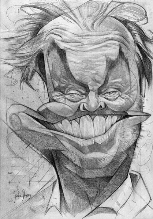 """""""Jack Nicholson"""" por Julio Ibarra"""