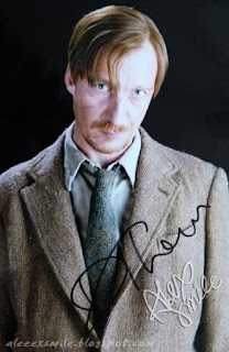 David Thewlis Autograf Autograph Harry Potter