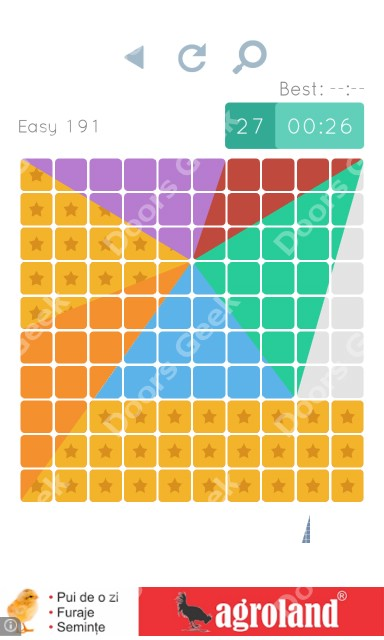 Cheats, Walkthrough for Blocks and Shapes Level 191