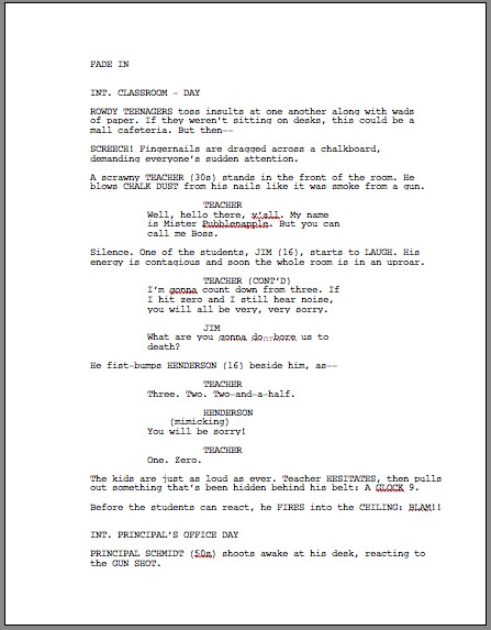 HOW TO BE A SCRIPT WRITER OR SCREENPLAY WRITER (ENGLISH AND