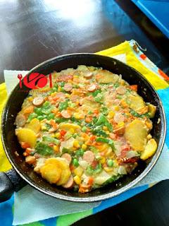 How to Make Potatoe Fritata 6