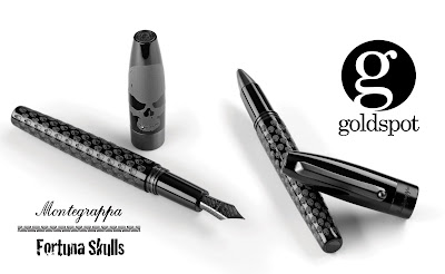 Coming this Halloween - Montegrappa Skull Pens