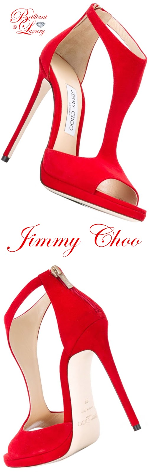 Brilliant Luxury ♦ Jimmy Choo Lana sandals