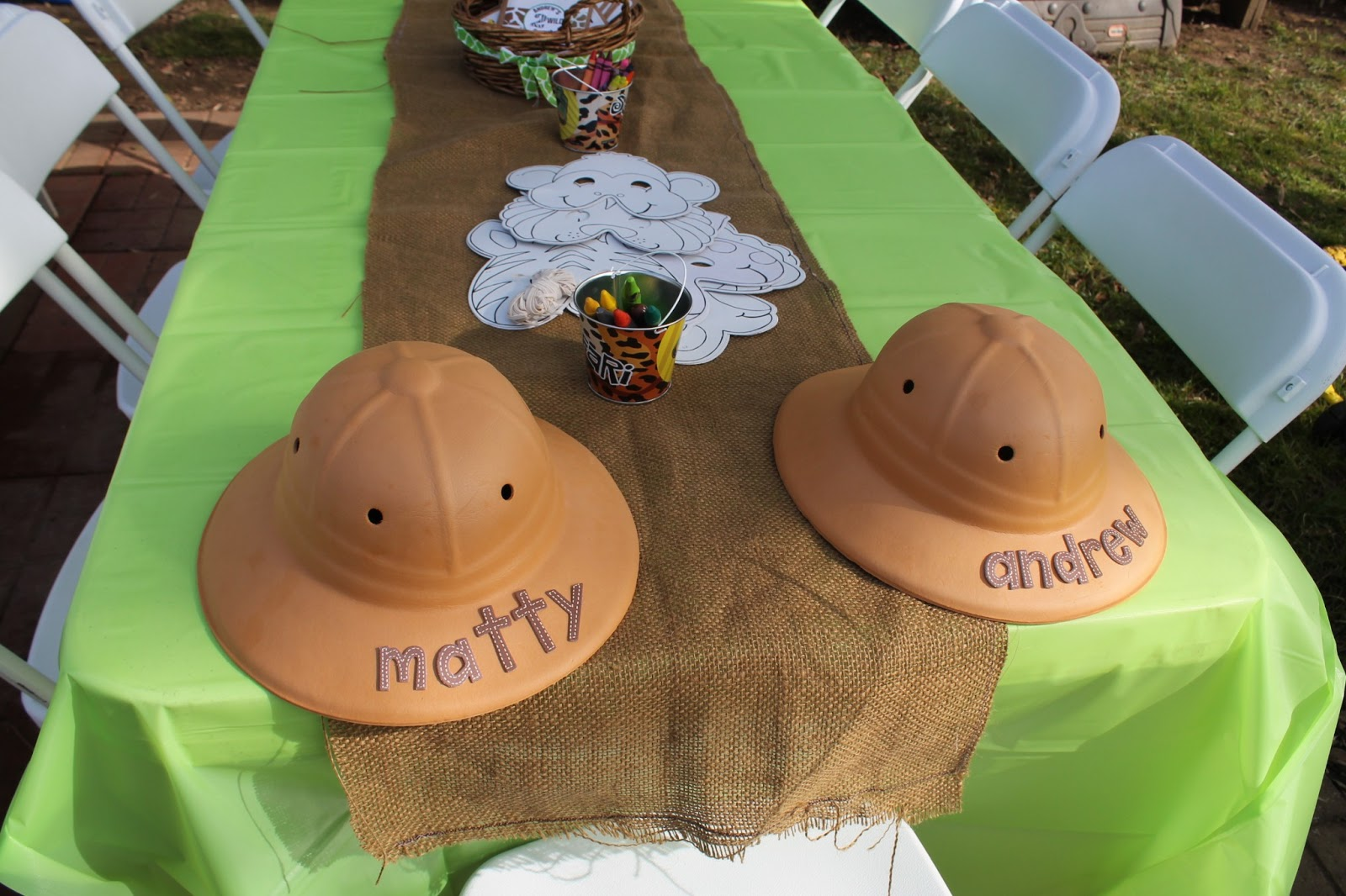 Lil Party Animals Drew S 2 Wild Safari Party