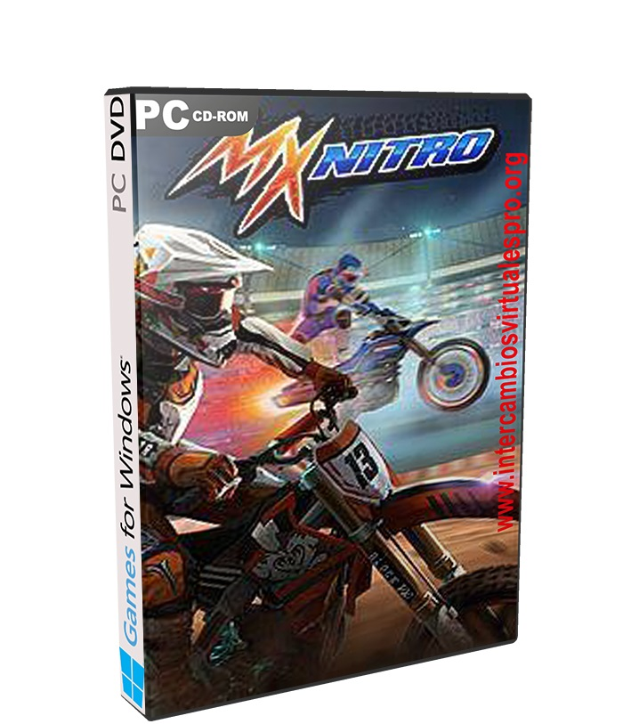 MX Nitro poster box cover