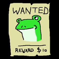 frog sticker ver.1