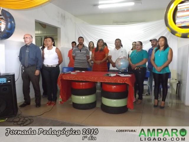 Jornada Pedagógica 2016 foi iniciada em Amparo nesta quarta-feira