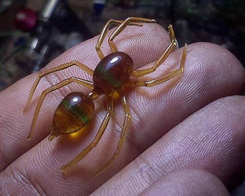 Tinuku.com Ivan Bestari and Otakatik studio color pattern artwork miniature sculpture glass materials