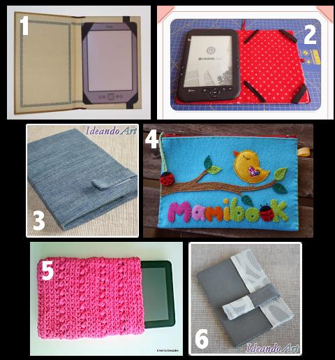 Seis fundas personalizadas para e books o tablets manualidades - Fundas para ebook ...