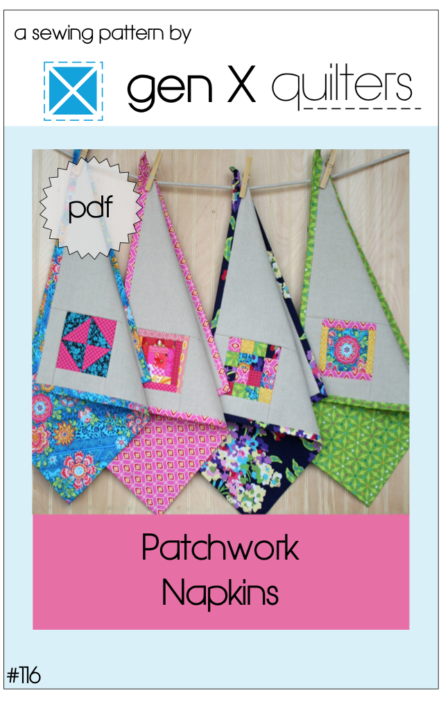 http://www.genxquilters.com/2014/04/patchwork-napkins-pattern.html